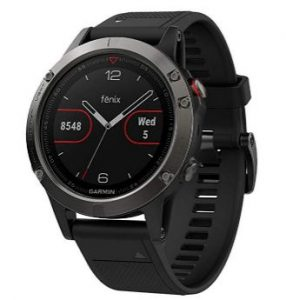Garmin Fenix 5 - Best iOS Compatible Smartwatches for iPhone Users