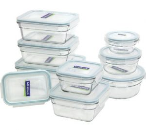 Best Glass Food Storage Containers - Glasslock 11292 18-Piece Assorted Oven Safe Container Set