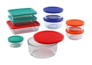 Best Glass Food Storage Containers - Pyrex Simply Store Glass Rectangular and Round Food Container Set