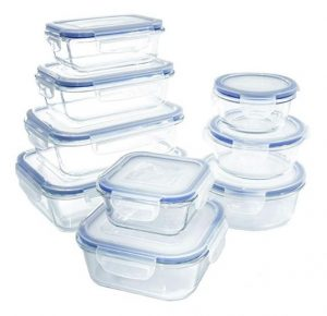 Best Glass Jars for Food Storage Containers - 1790 18 Piece Glass Food Storage Container Set