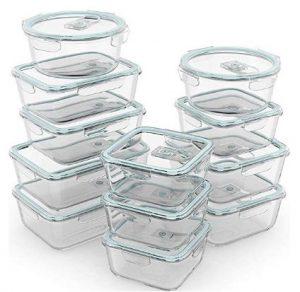 Best Glass Storage Containers - Razab 24 Piece Glass Food Storage Containers