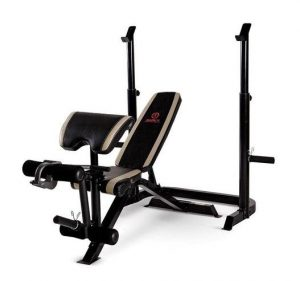 Marcy Adjustable Olympic Weight Bench MD-879 - Best Olympic Weight Bench with Squat Rack