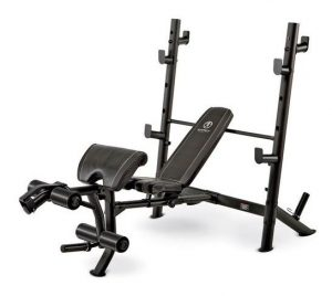 Marcy Olympic Mid-Size Workout Weight Bench MD-867W - Best Heavy-Duty Olympic Weight Bench